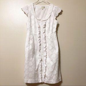 Anthropologie Moulinette Soeurs White Party Dress